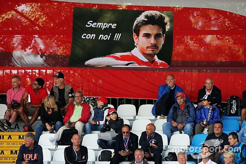 El padre de Bianchi dice que aún no puede ver la F1