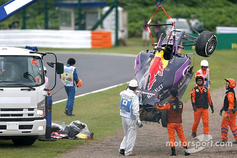 Kvyat to get new chassis after qualifying crash