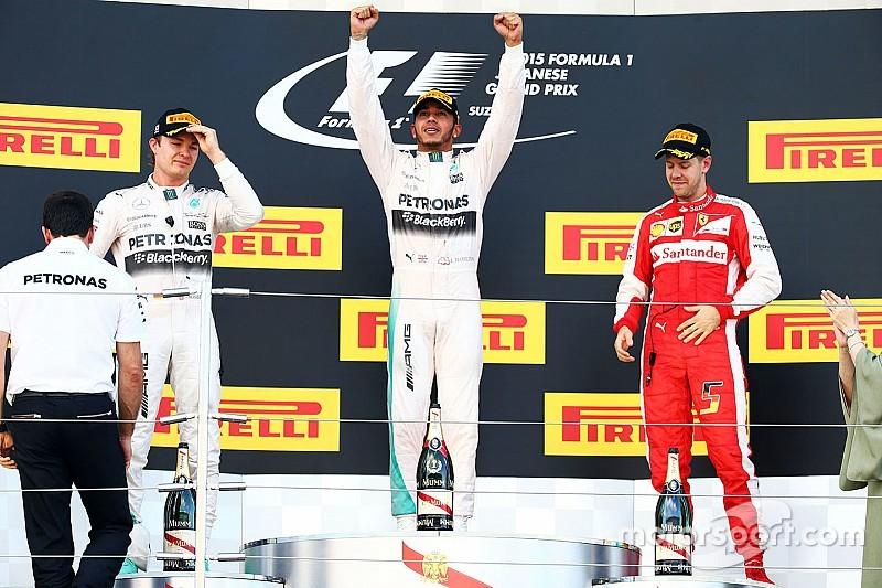 Hamilton iguala la marca de Senna