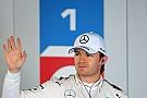 Pole de Rosberg en Rusia