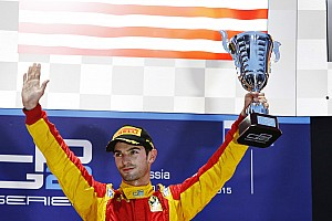 GP2 Rennbericht Alexander Rossi gewinnt verkürztes GP2-Hauptrennen in Sotschi