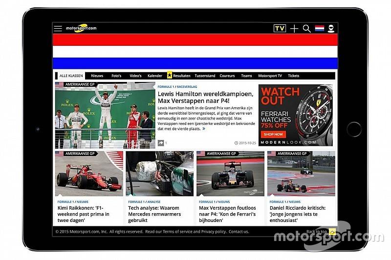 Motorsport.com Announces Dutch-Based Digital Edition in the Netherlands
