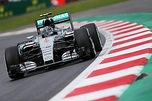 Formula 1 Practice report Mexican GP: Rosberg pips Hamilton as Raikkonen blows up