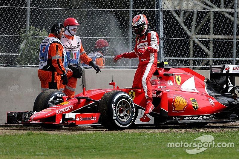 Raikkonen resaltó la labor de los mecánicos de Ferrari
