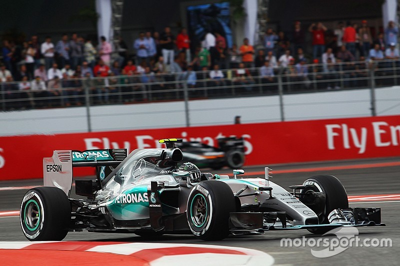 Mexican GP: Final starting grid