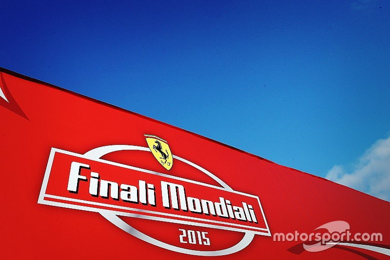 Ferrari Finali Mondiali gets under way at Mugello