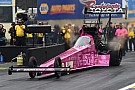 NHRA Antron Brown talks about his second Top Fuel world second championship