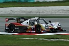 Asian Le Mans Any clouds in the sky and hot track on qualifying at Sepang