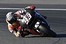 Marquez ends Valencia test on top as crashes continue