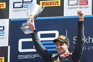 GP2 Race report Bahrain GP2: Evans outfoxes Lynn for sprint race victory