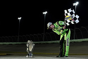 NASCAR Sprint Cup Breaking news Newly-crowned champion Kyle Busch will need offseason surgery