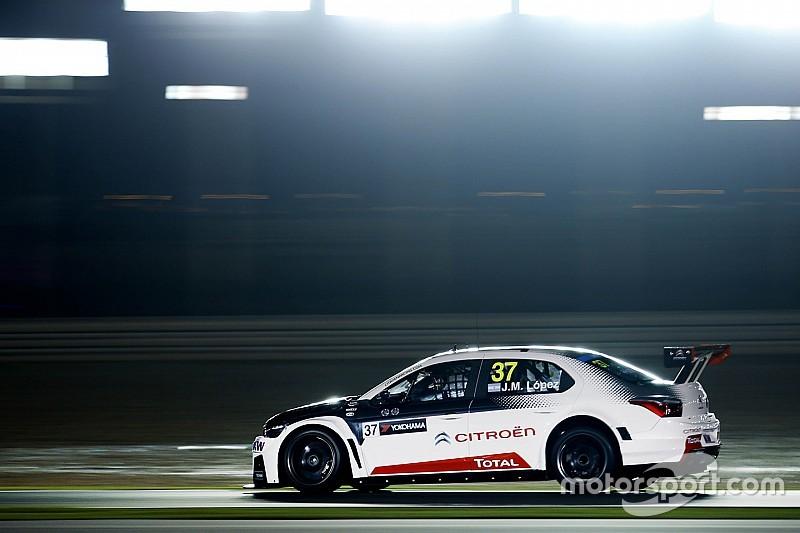 Qatar WTCC: Lopez dominates milestone night race