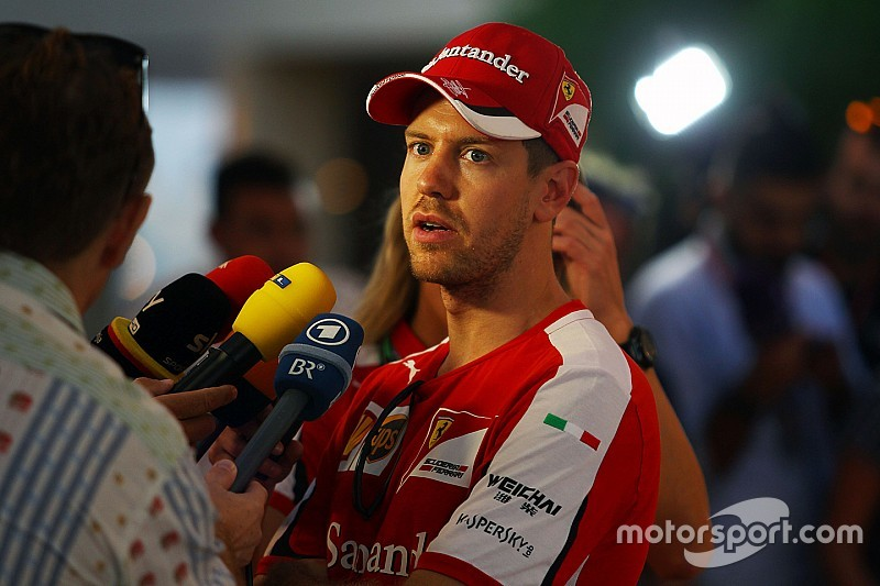 Vettel admits Ferrari made a mistake