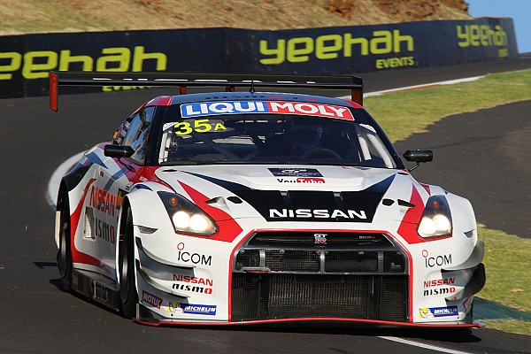 Endurance Michael Caruso tests Bathurst 12 Hour winning Nissan GT-R NISMO GT3 at Fuji Speedway - video