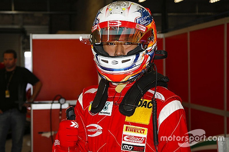 Ferrari protege Zhou joins Toyota Racing Series roster