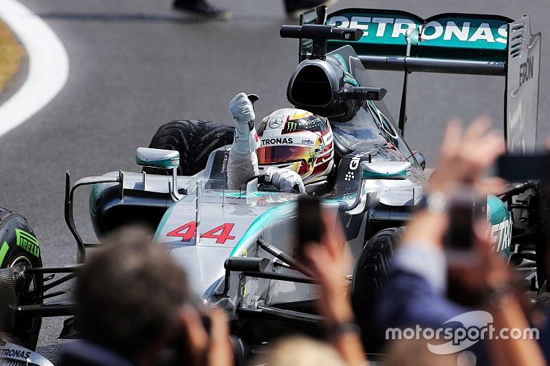 Succes Lewis Hamilton bij Mercedes kwestie van geluk?