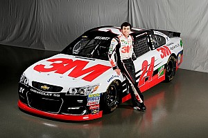 NASCAR Sprint Cup Breaking news 2016 3M scheme unveiled for Chase Elliott's No. 24
