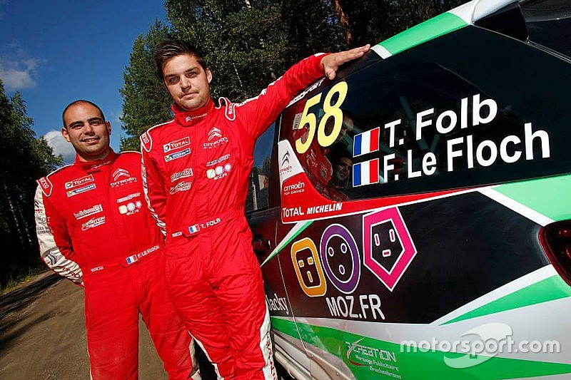 Loeb's team signs Folb for first season in rallying