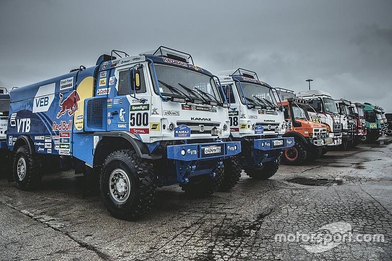 Dakar-organisatie stopt de proef voor trucks in derde etappe
