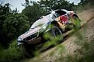 Dakar auto's: Krappe winst Peterhansel op Peugeot-teamgenoten