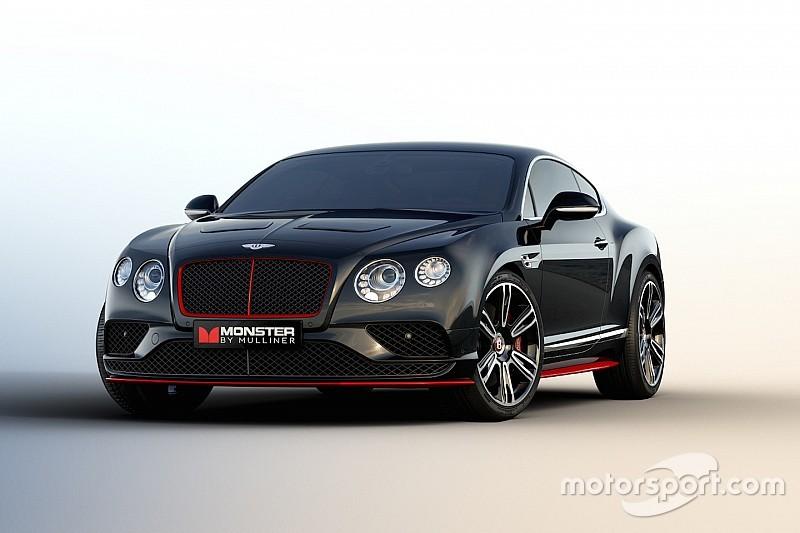 Bentley en Monster bouwen monsterlijke one-off op basis van Continental GT