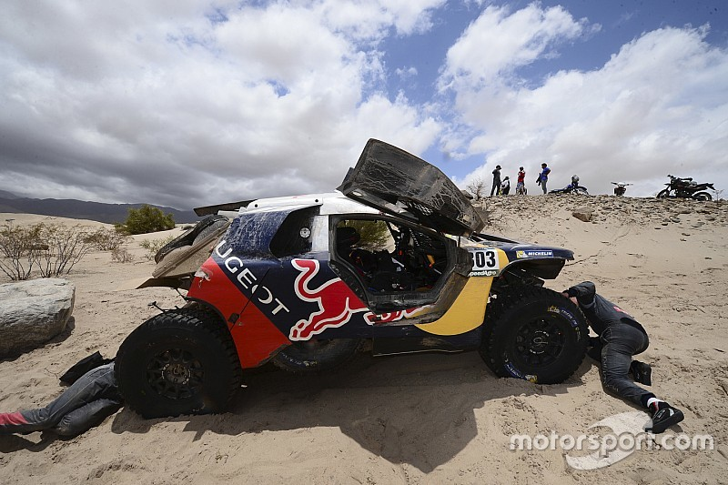 Sainz confident of getting another shot at Dakar win