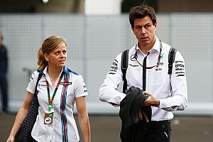 "Formula 1 Breaking news Susie Wolff ""good enough to race for midfield team"", says Toto"