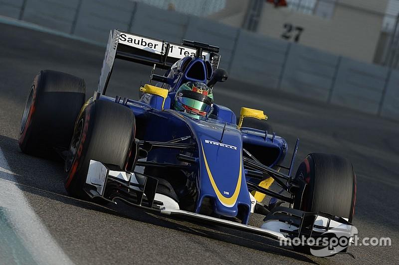 Sauber introduceert nieuwe auto pas bij tweede test