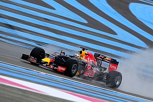 Formula 1 Testing report Ricciardo tops first day of wet Pirelli test
