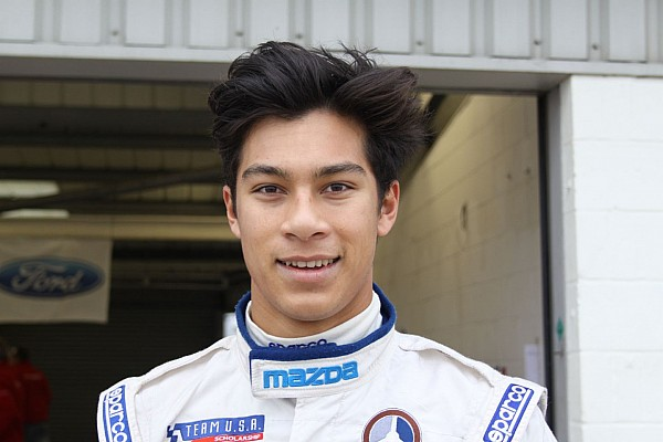 Indy Lights Breaking news Carlin signs Alberico for 2016