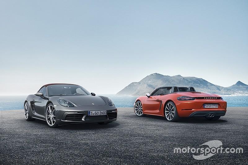 Porsche 718 Boxster e Boxster S, inizia l'era