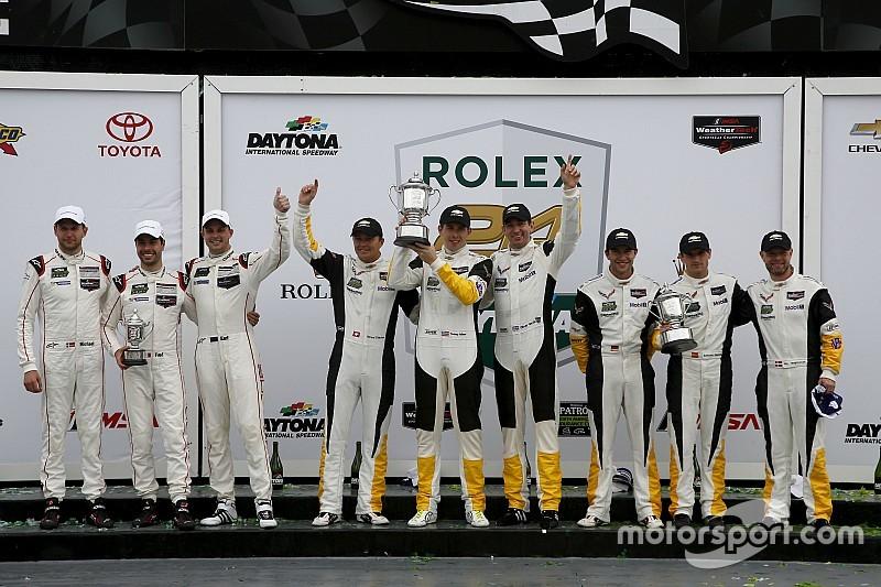 Porsche: Saisonstart mit zwei Podiumsplätzen in Daytona
