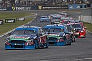 V8 Supercars Prodrive splits Winterbottom and Mostert garages