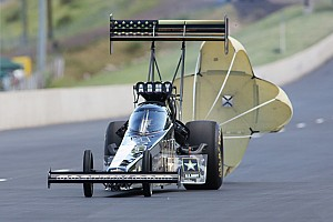 NHRA Testing report Beckman and Schumacher set the pace Friday at NHRA Nitro Spring Training