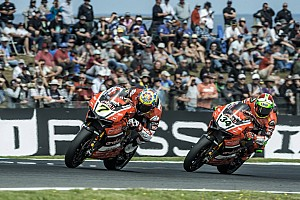 World Superbike Race report Ducati team stepped on the podium once again in Phillip Island