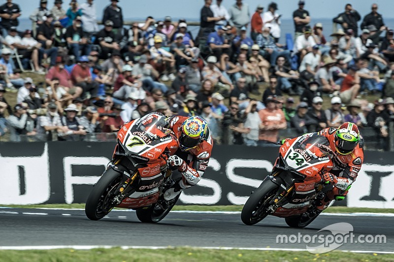 Ducati team stepped on the podium once again in Phillip Island