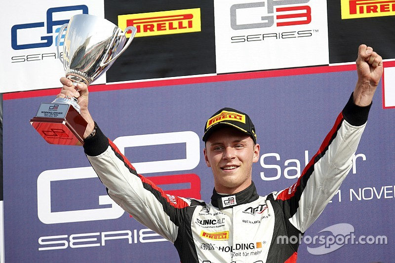 Kirchhofer graduates to GP2 with Carlin