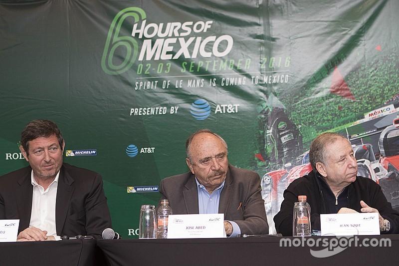 WEC墨西哥城6小时赛9月开赛