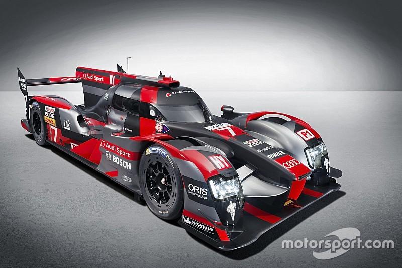 Audi zeigt den R18 e-tron quattro für WEC und Le Mans 2016