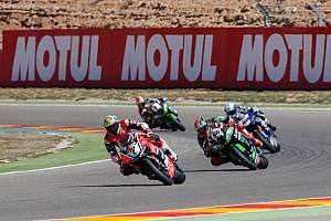 World Superbike Breaking news Aragon WSBK: Ducati's Davies dominates Race 1