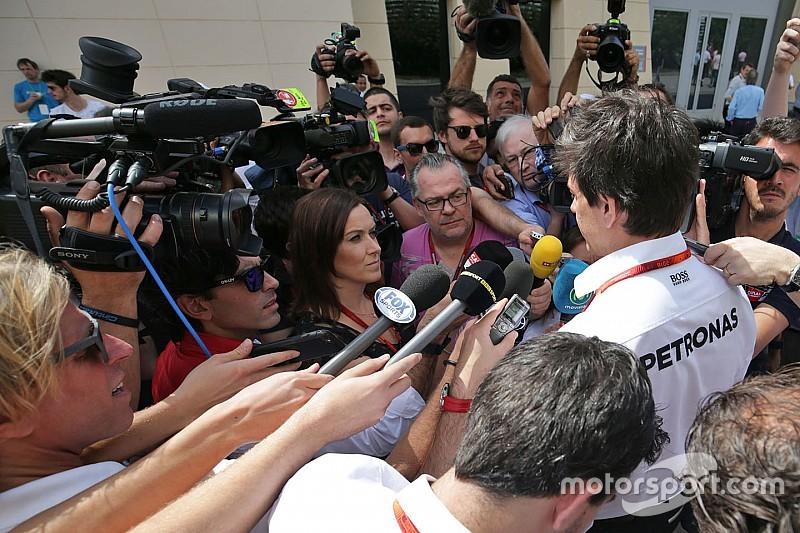 """沃尔夫:F1排位赛闹剧""""疯了"""""""