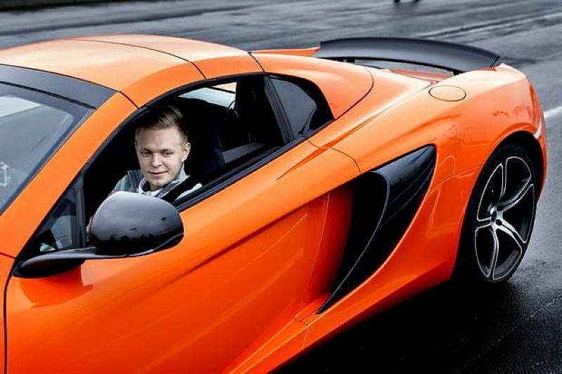 Магнуссен та McLaren 650S