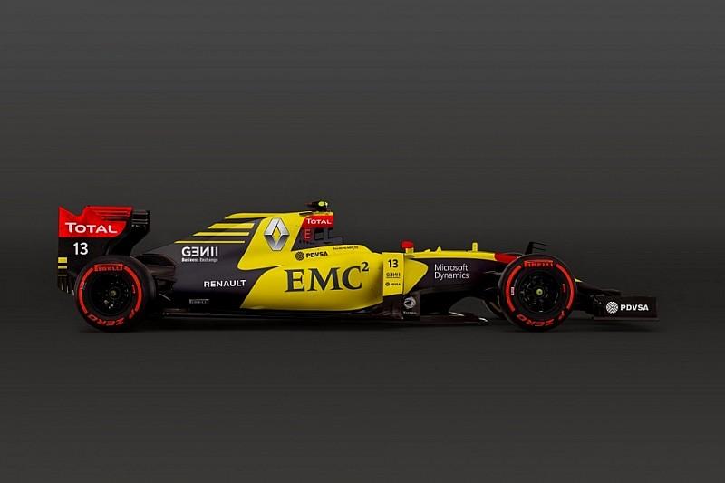 Renault вибрала жовтий колір