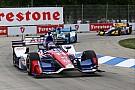 佐藤琢磨「グリップ不足とバランスに悩まされた」:インディ第7戦デトロイト・レース1