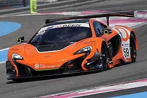 GT Open Qualifiche Duncan Tappy e la McLaren in pole per Gara 2 al Paul Ricard