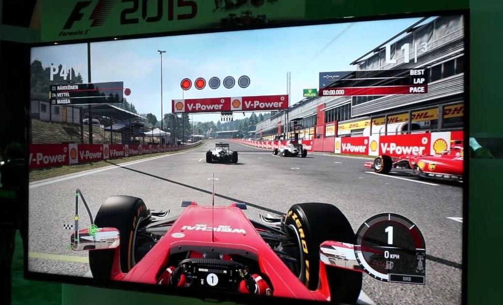 F1 2015: Ilyen a játékban a Ferrarival versenyezni Spa-ban
