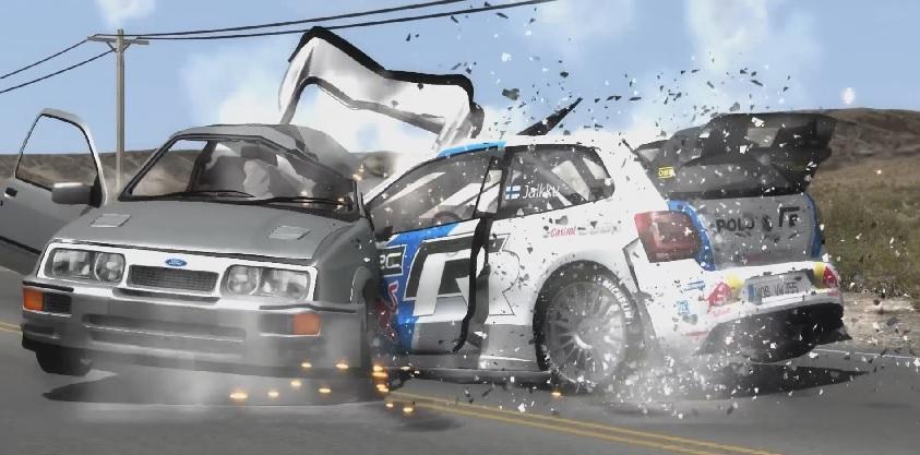 Soha nem látott részletességgel törnek az autók a játékban: Egészen elképesztő