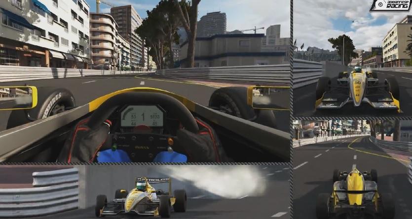 Project CARS: Monaco utcáin egy formula autóval