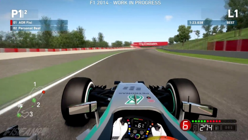 F1 2014: Ennyire lett valósághű az új F1-es játék