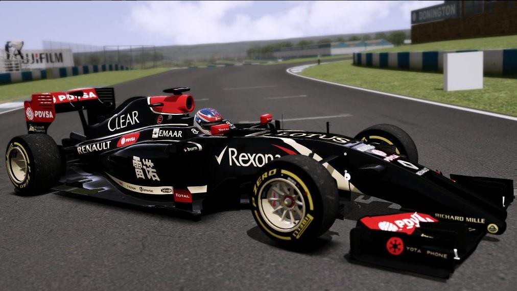 F1 2014 (AC): Képek a Lotus F1 Team idei versenygépéről a játékban